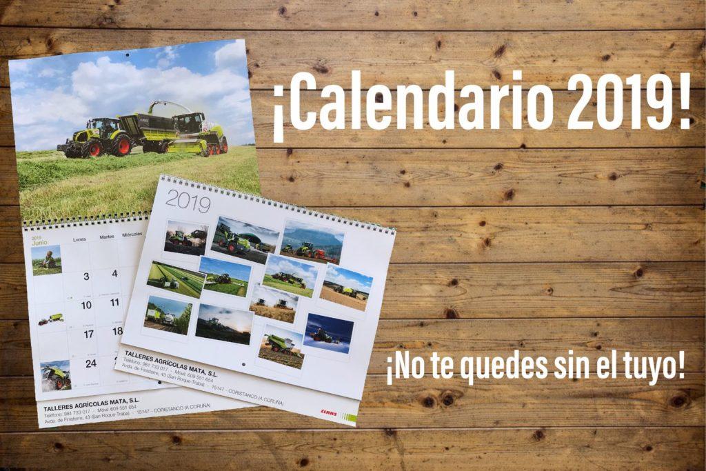 Visítanos y llévate tu calendario Claas
