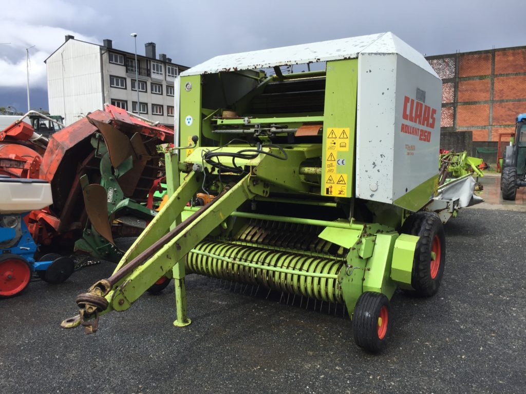 Rotoempacadora Claas Rollant 250